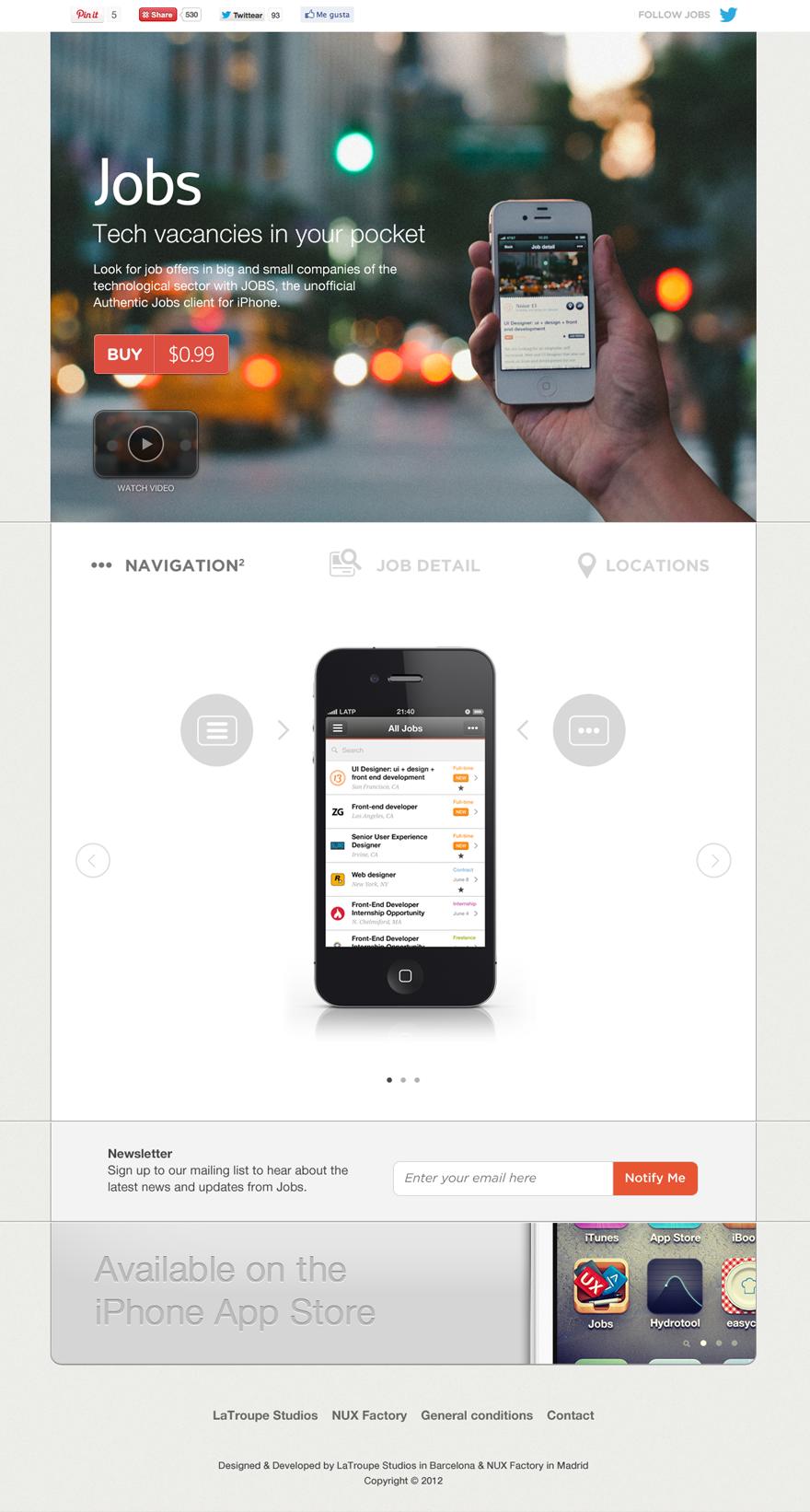 Jobs, tech vacancies in your pocket | Ideas | Mobile app
