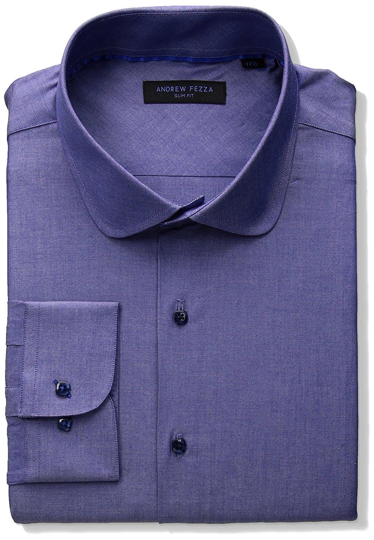 1271d73c5 Men's Clothing, Shirts, Dress Shirts, Men's Premium Fashion Indigo Solid Dress  Shirt - Blue - CE182DR7Q8Y #men #fashion #clothing #style #outfits #Dress  ...