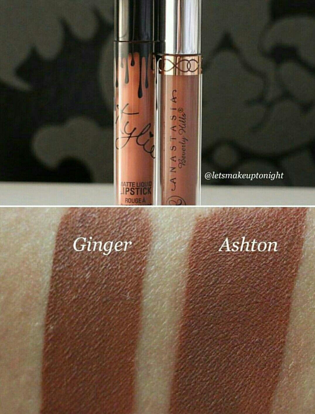 Kylie Cosmetics Ginger & ABH Ashton Kylie jenner lip kit
