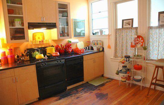 Kitchen Gallery Orange Like a Clementine Kitchen gallery, Kitchen
