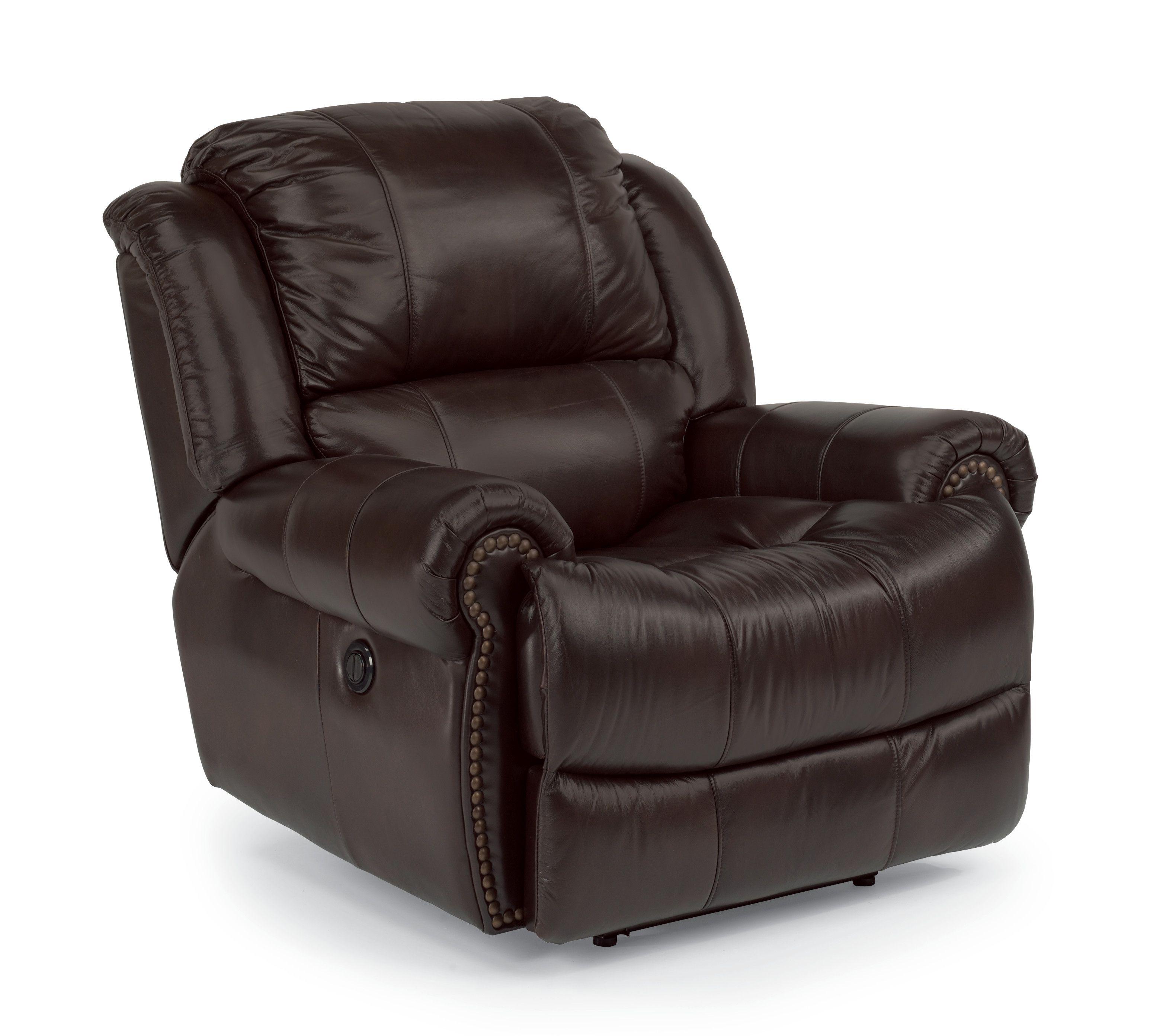 capitol latitudes power recliner with nailheads 1311 50p shopac rh pinterest com