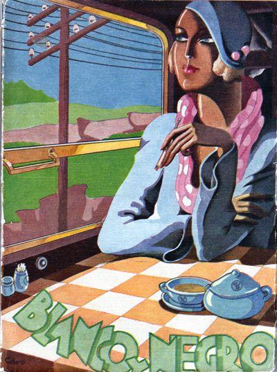 Blanco y Negro June 1933 by Cobos - Vintage Artistic Magazines Gallery at I Desire Vintage Posters