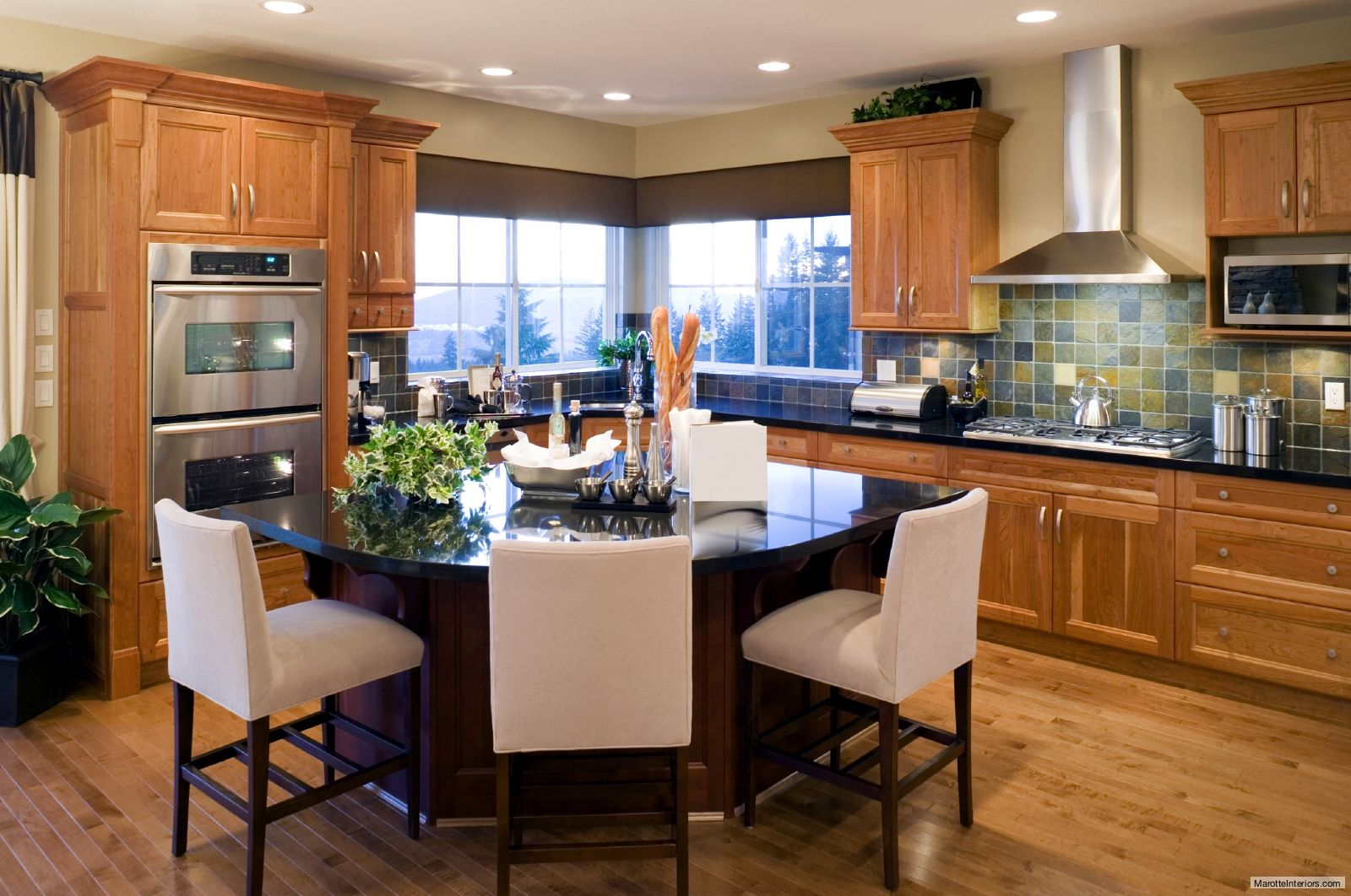 traditional arts crafts kitchen remodeled by marotte interiors kitchen design open interior on kitchen interior small space id=68802