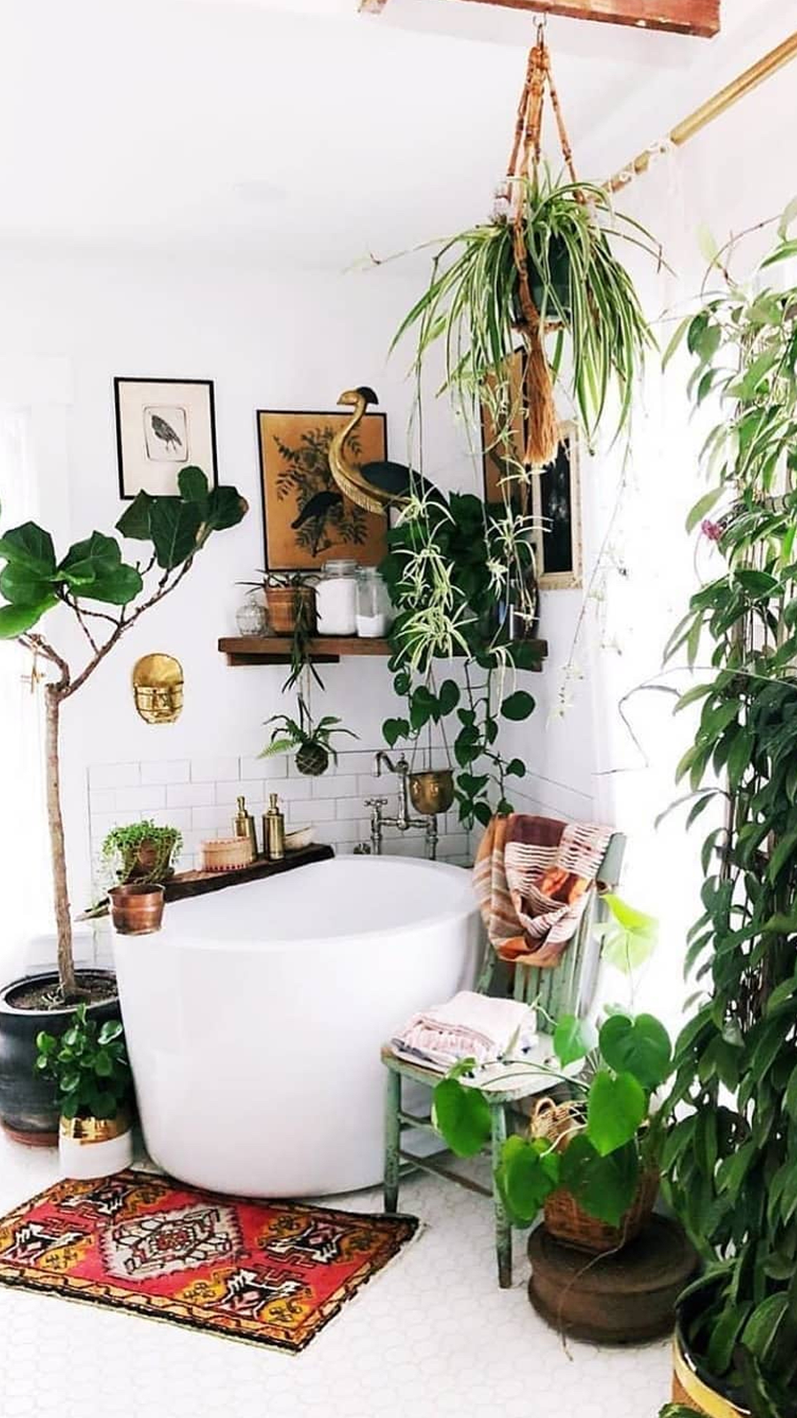 33++ Decoracion de banos con plantas ideas
