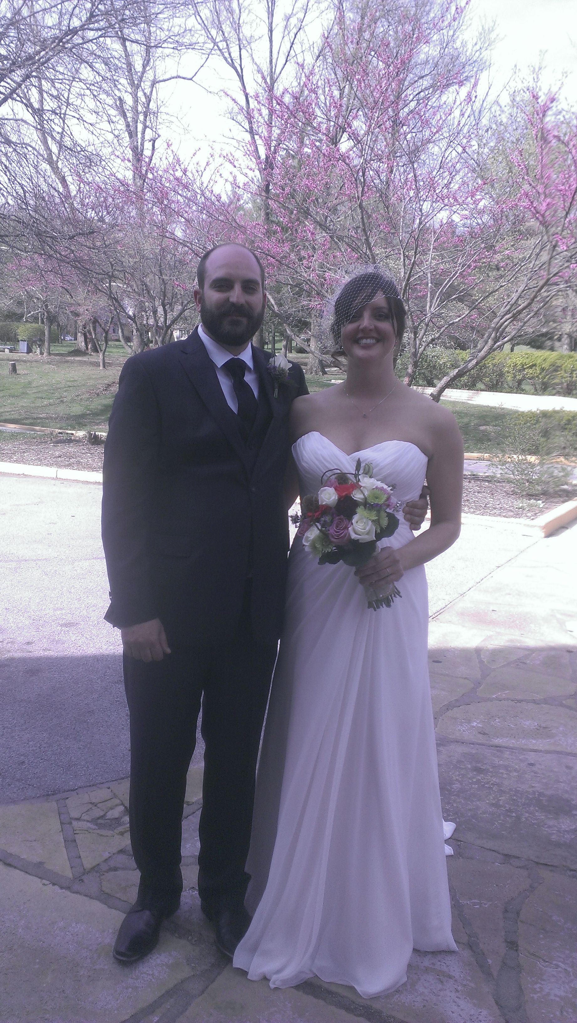 Daniel and Stacey were married at Pere Marquette State Park on 4-19-14