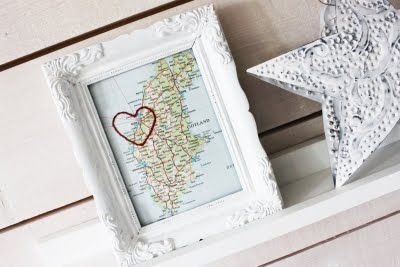 This but with Key Largo. How cute a present would that be? Or to hang in the beachy bathroom...