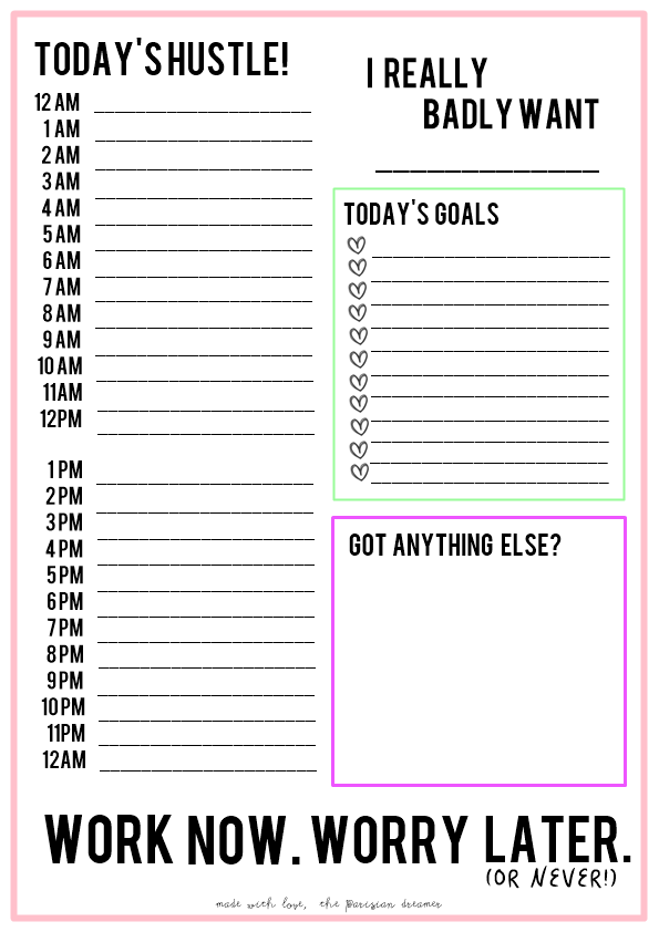 theparisiandreamer here are the planner printables just click on