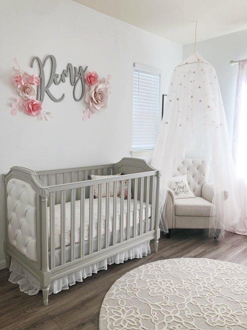 Magnifique Decoration De Rose Pour Chambre De Bebe Pepiniere