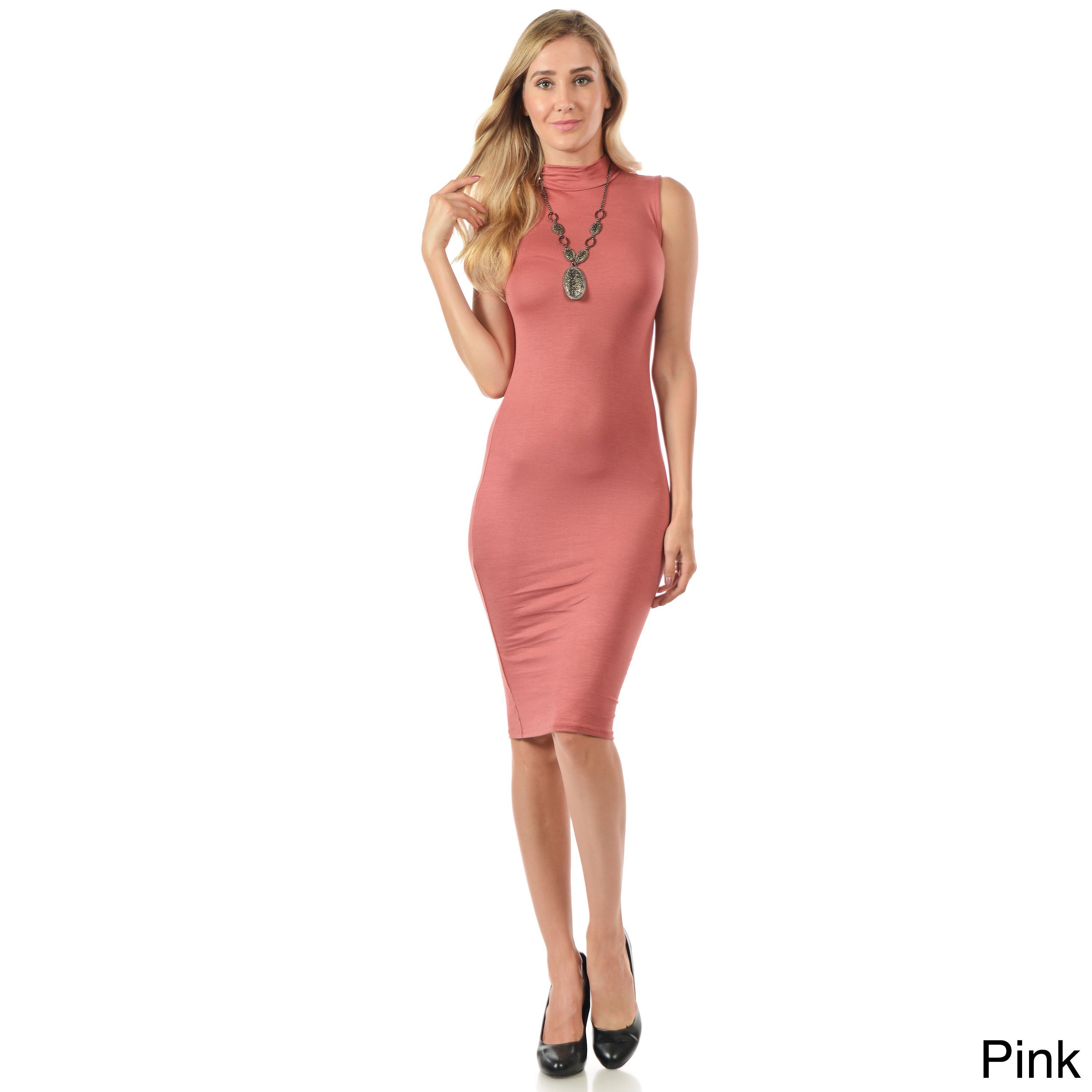 Aria Women\'s Bodycon Rayon/ Sleeveless Dress | Products | Pinterest ...