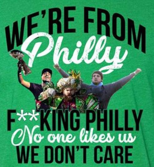 Jason Kelce Philly No One Likes Us And We Don/'t Care Fly Eagles Fly Cool Fan  Ho