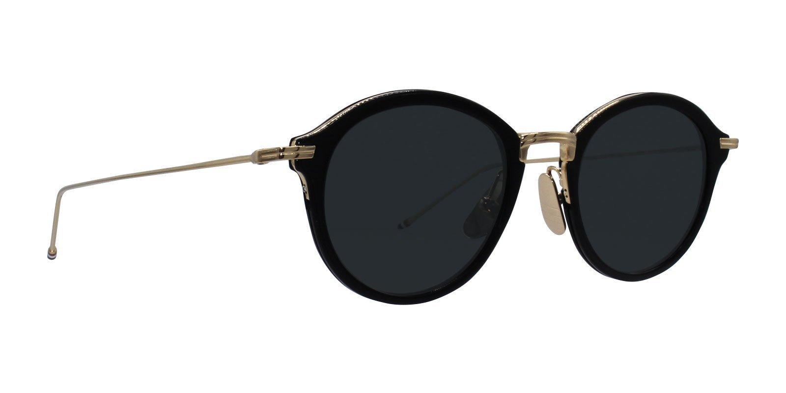 c1d9f9662487 Thom Browne - TB-908 Black Gold - Green-sunglasses-Designer Eyes ...