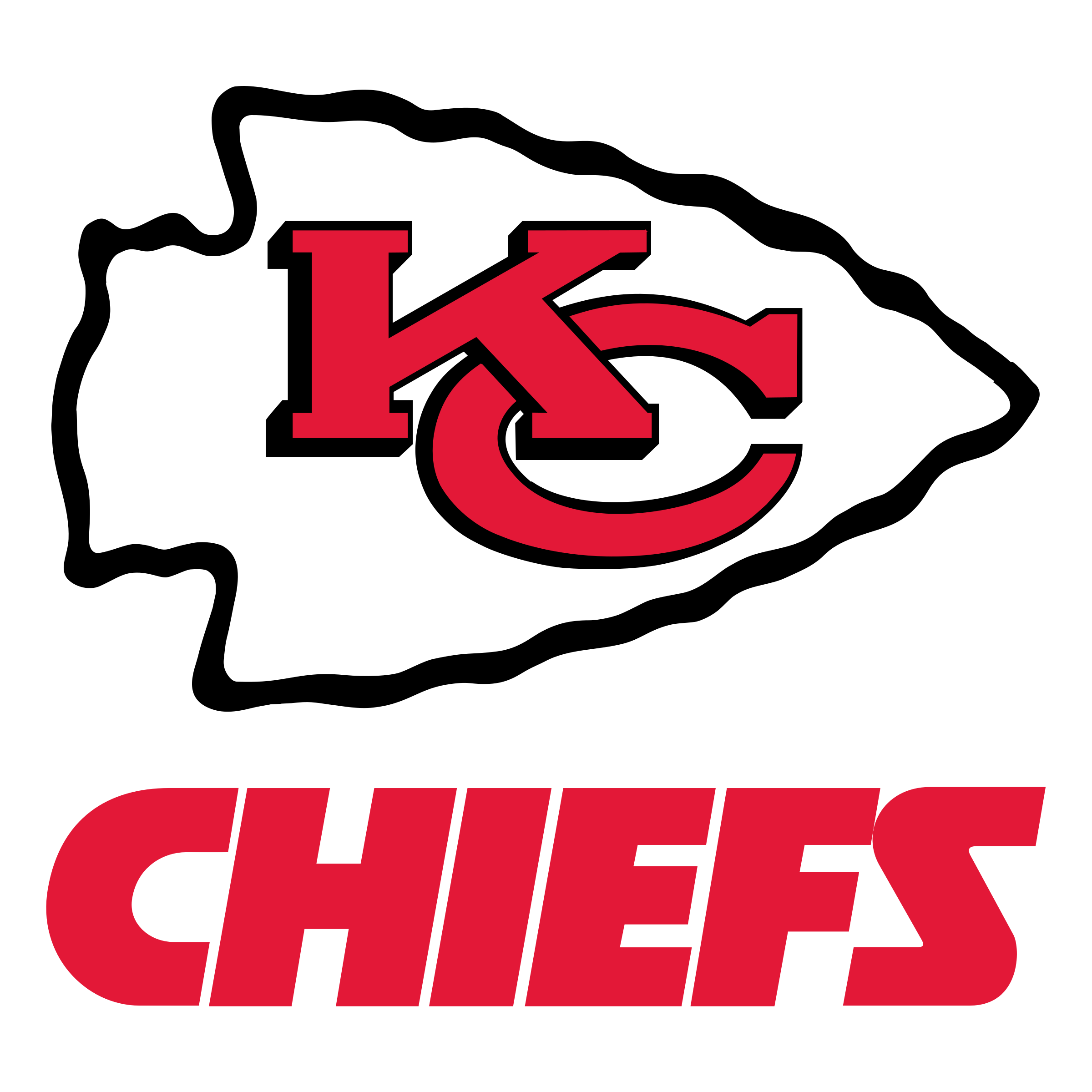 Kansas City Chiefs football logo. Free! Kansas city