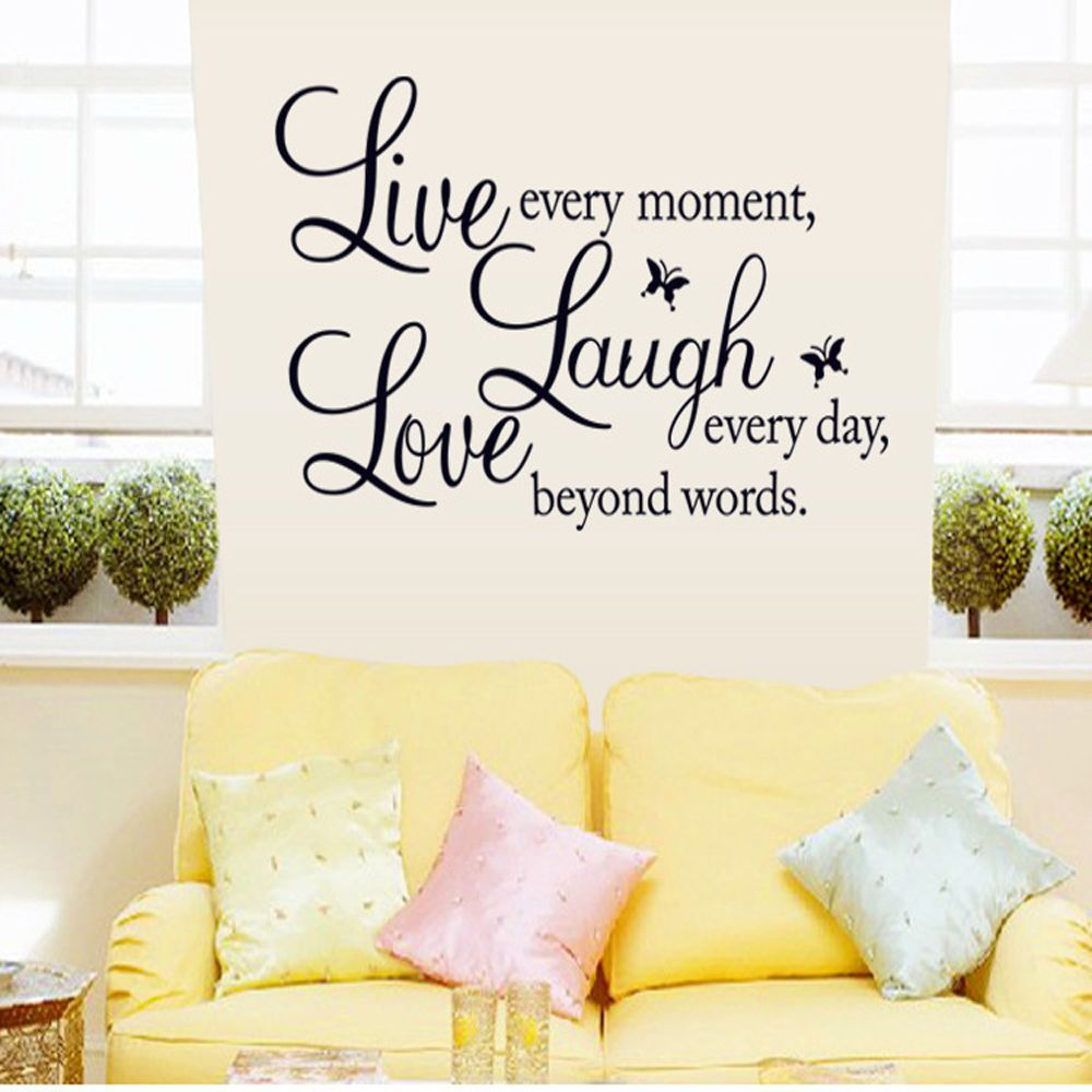 Bedroom Removable Home Room Decor Art DIY Wall Quote Word Decal ...