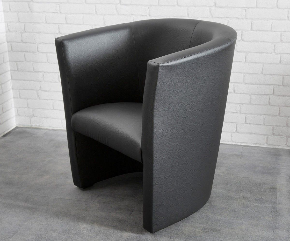 Cocktailsessel goya schwarz design sessel lounge sessel for Schwarz leder sessel design