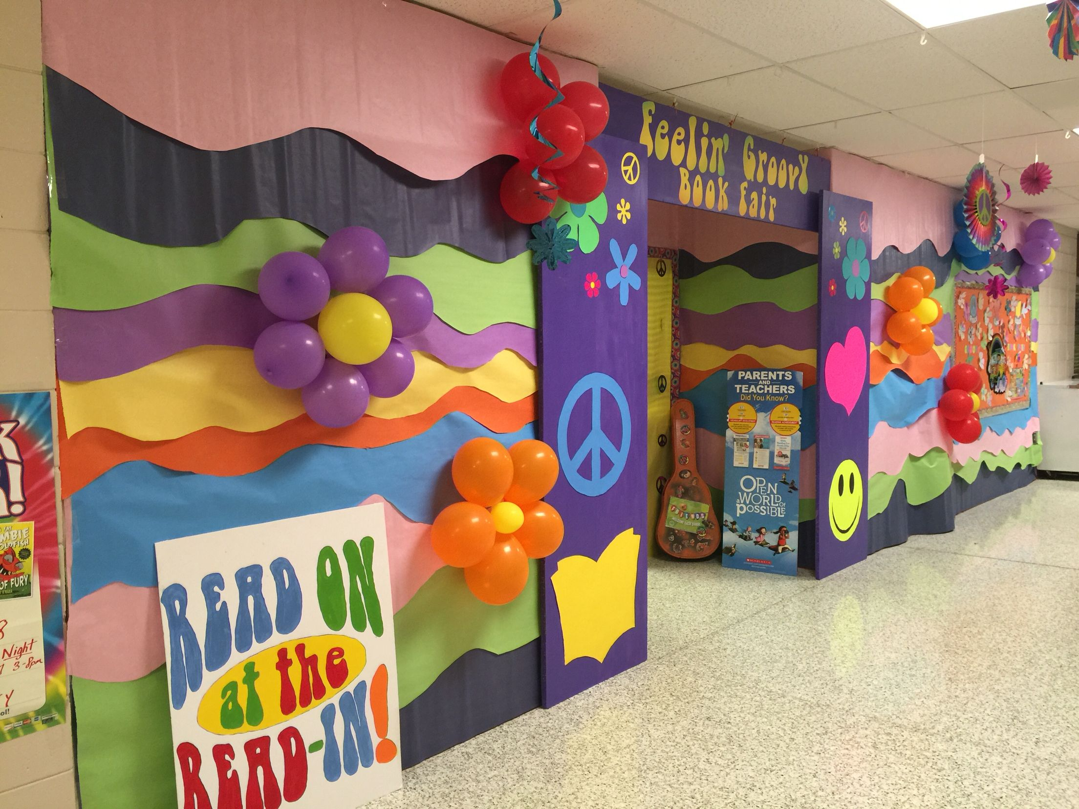 Book Fair Decorations 60s Party Themes 70s Party Decorations