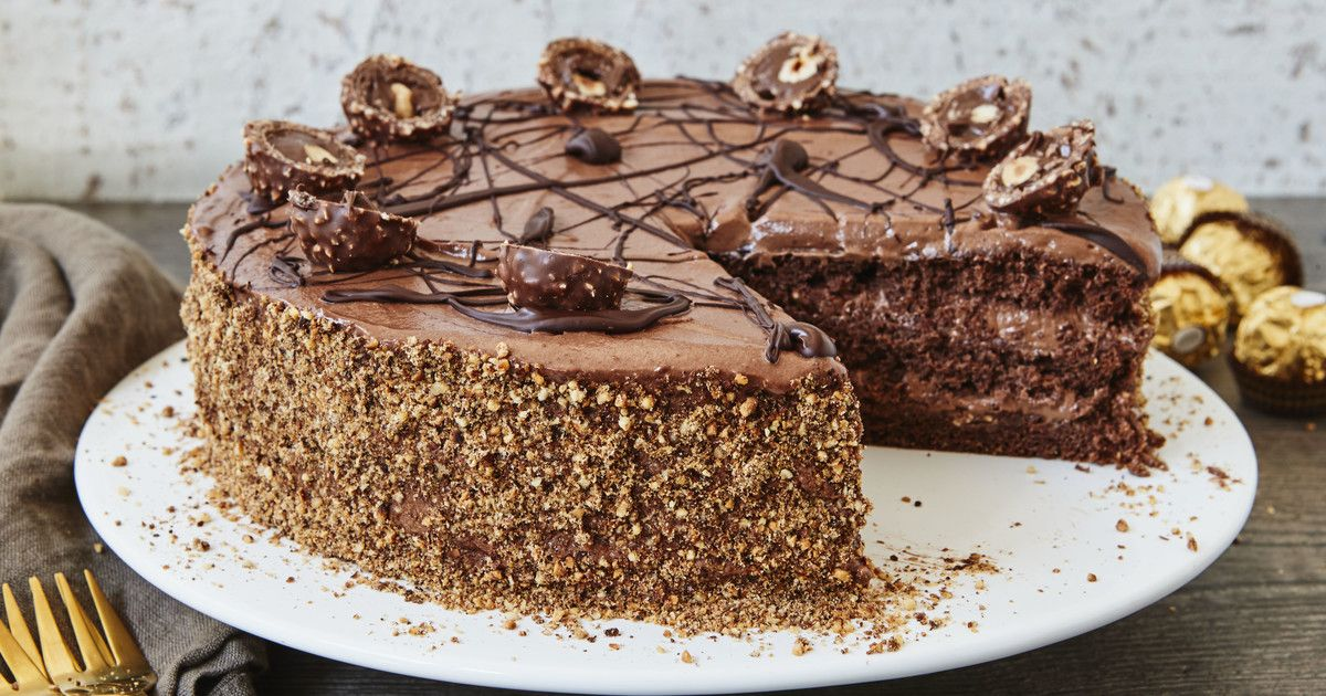 Photo of Rocher cake | my family & me – Europe's largest food magazine