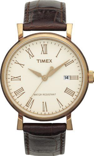 0cda30d08aa0 Timex Mens Originals White Dial Roman Numerals Rose Tone Case Brown Leather  Watch T2N541 Timex. $79.99. Roman Numerals