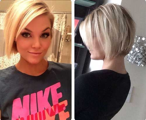 Blunt Blonde 50 Adorable Short Haircuts Hair Pinterest And Blondes