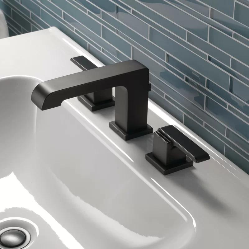 ara widespread bathroom faucet with