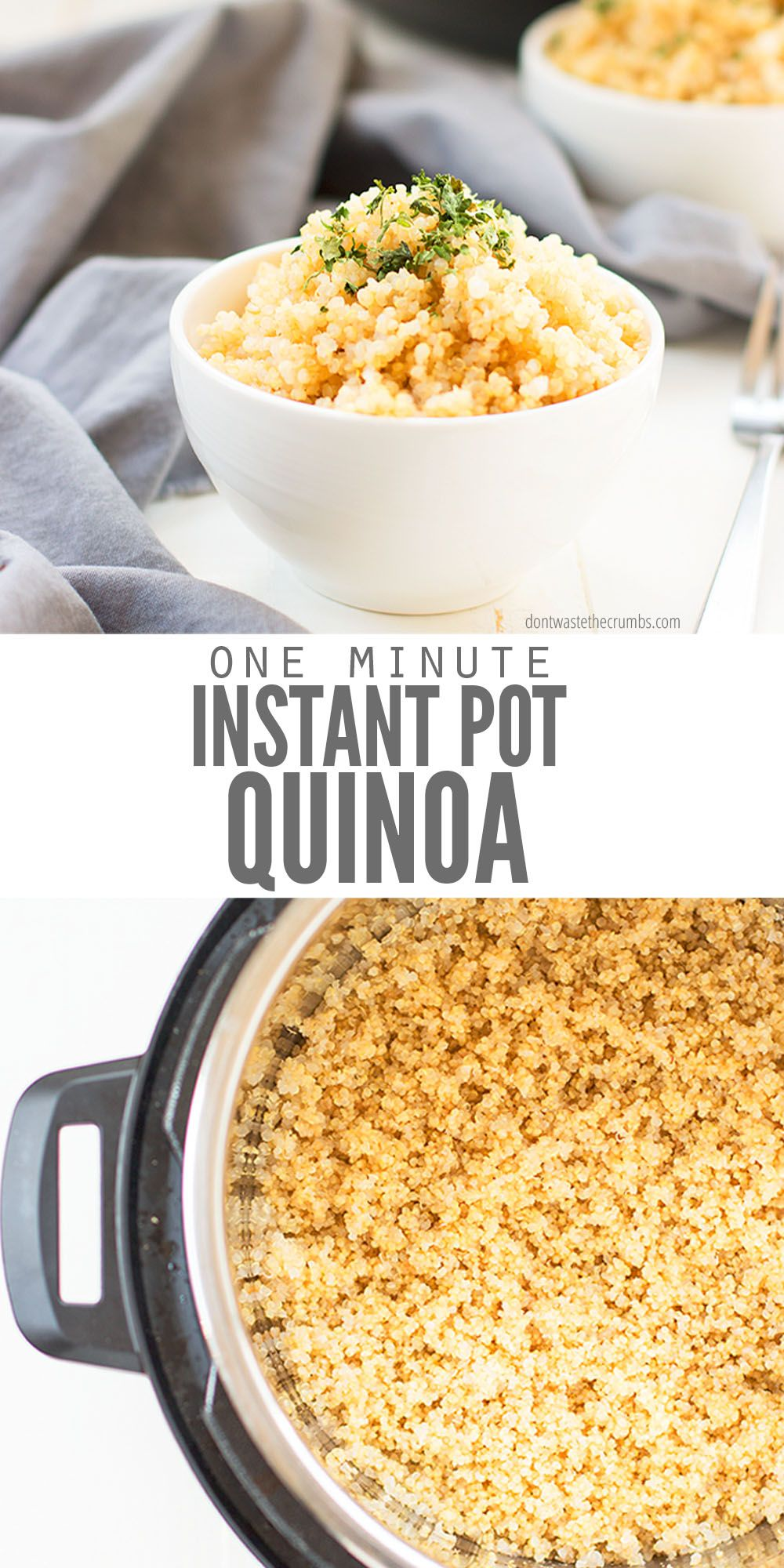 Photo of How to Cook Quinoa Perfectly in the Instant Pot
