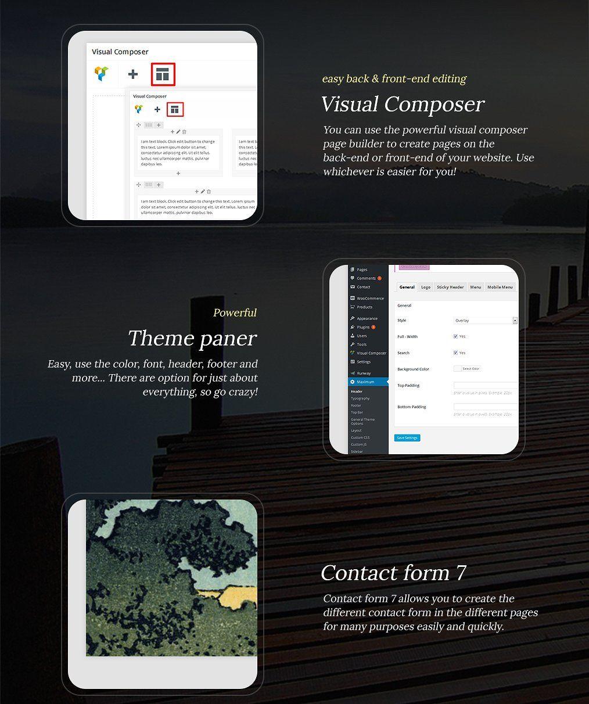 Max Responsive Multi Purpose Theme Elements Colors Borders Page