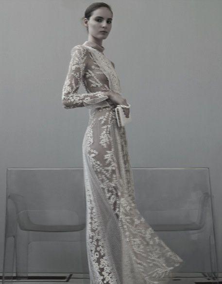 Wedding Ideas Antique Lace Dress