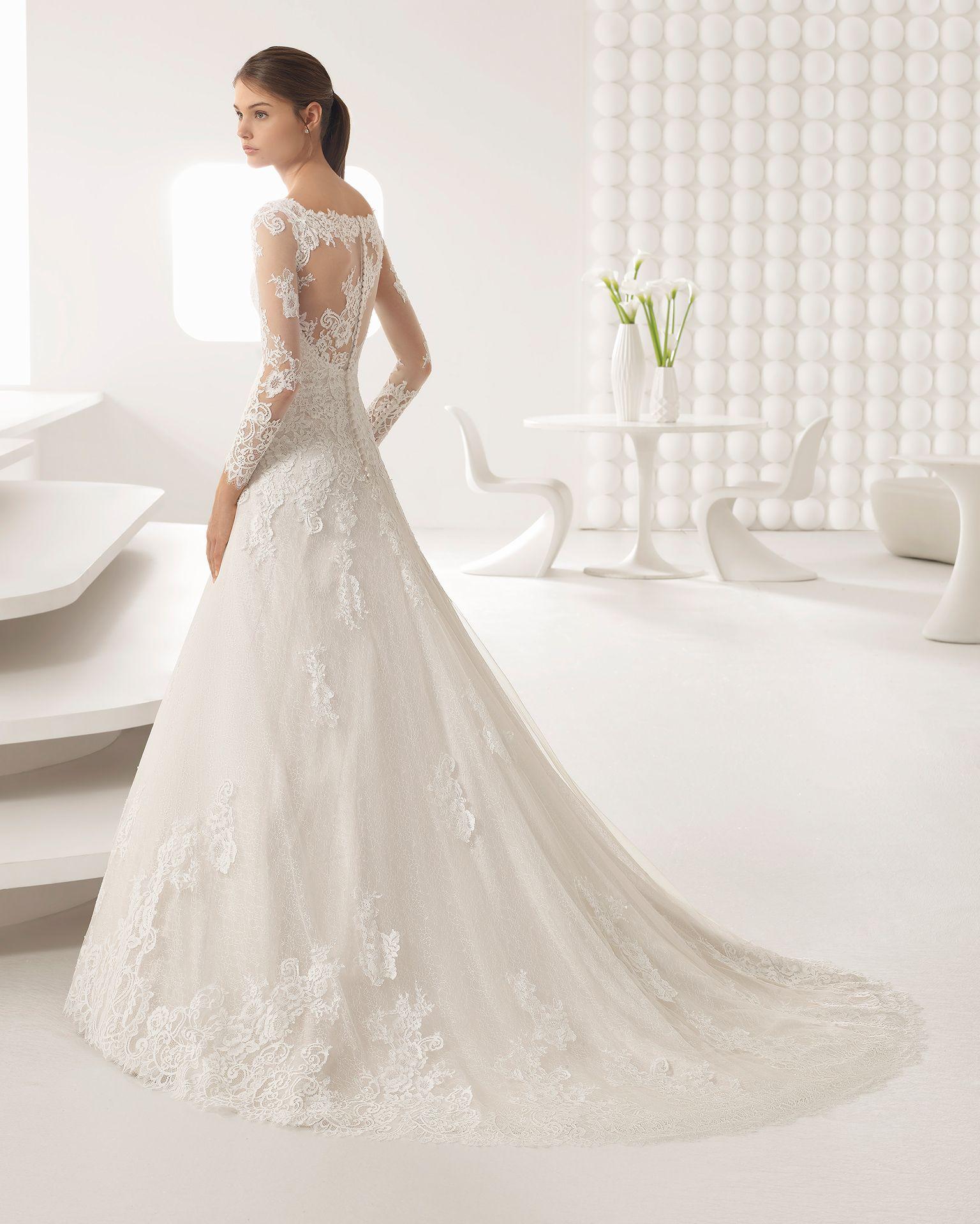 AMERICA - 2018 Bridal Collection. Rosa Clará Collection | Beaded ...
