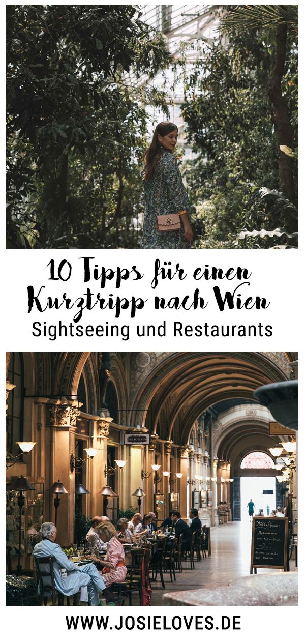 Meine Tipps für einen Kurztrip nach Wien – Josie Loves