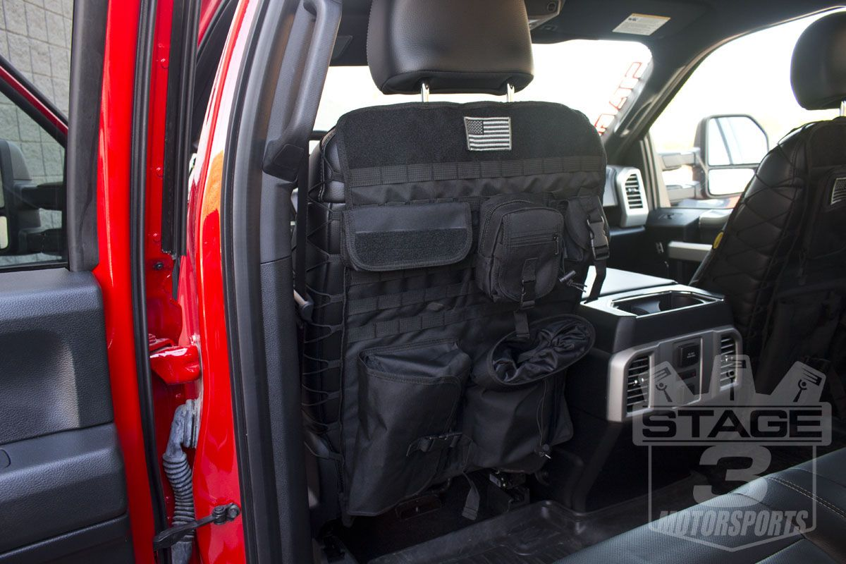 2015 2016 F150 Tactical Front Seat Back Cover 04 15f150tsc F150 Tactical F150 Accessories