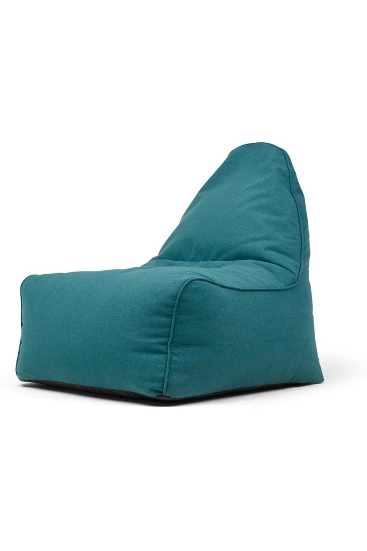 Ayra Bean Bag Chair, Mineral Blue | Bean bag chair, Bean