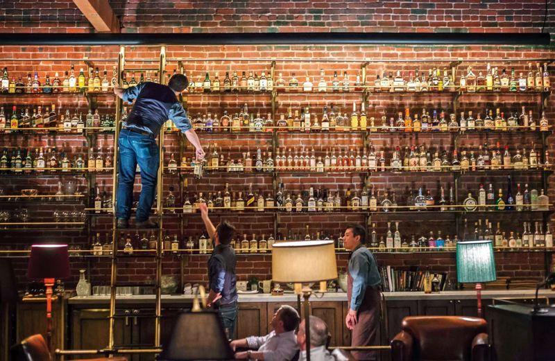 Multnomah whiskey library portland or bar decor interiors pinterest bar Home bar furniture portland oregon