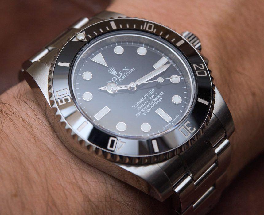 Rolex Submariner No Date On Wrist