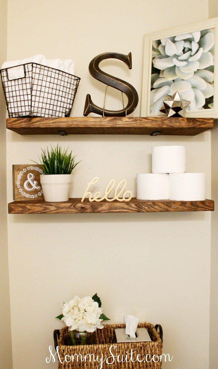 Bathroom-Shelves-1.jpg (735×1241) | interiors | Pinterest | Shelves ...