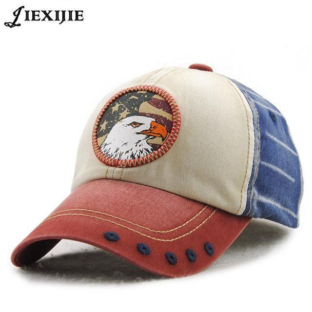 84417f45adf Unisex USA Eagle Adjustable Baseball Cap