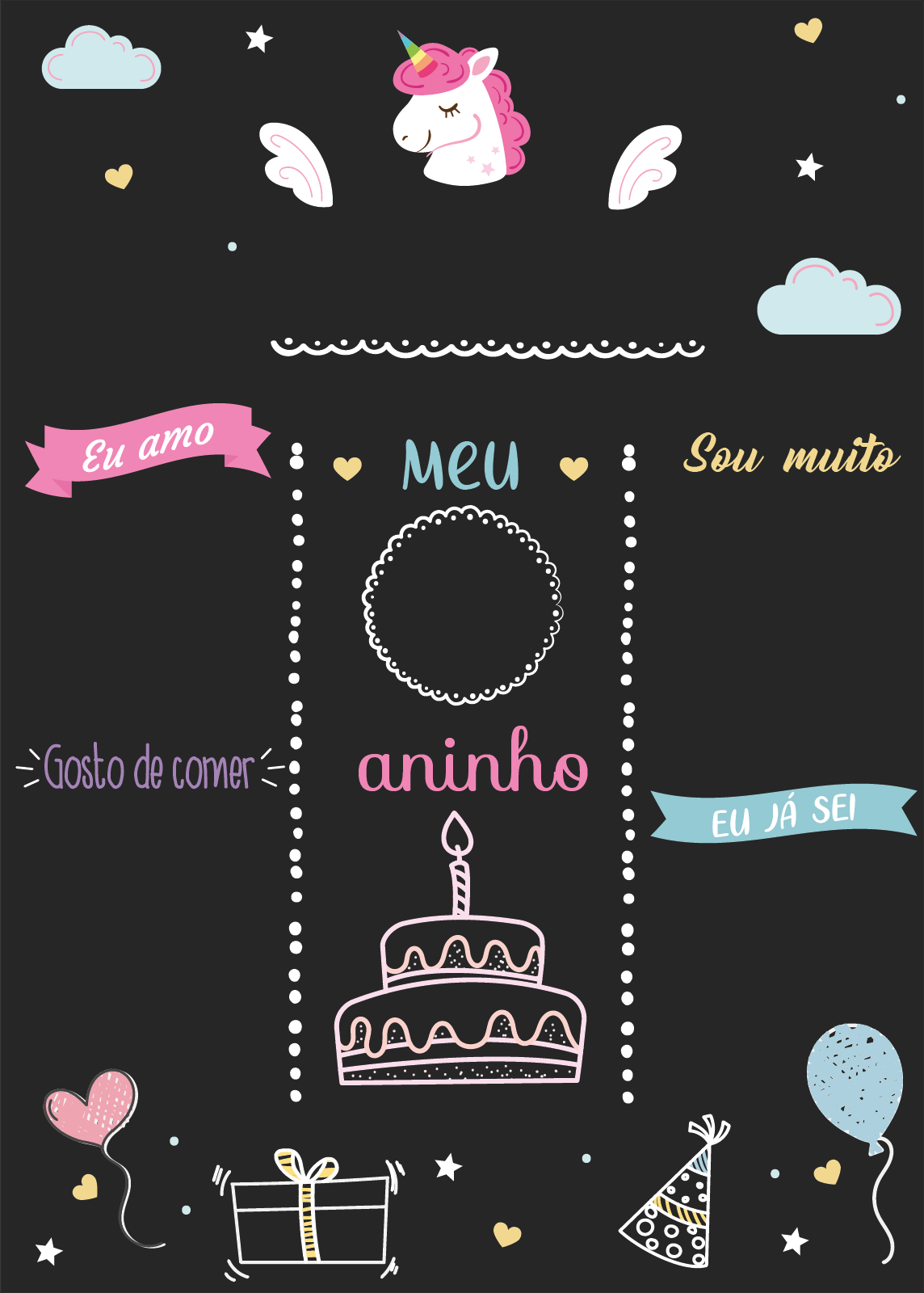 Unicórnio De Madeira Personalizado Lembrança Decoração Aniversário Dia Dos Namorados