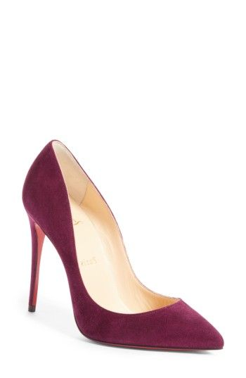 53b6f4f1354 Free shipping and returns on Christian Louboutin Pigalle Follies Pointy Toe  Pump (Women) at Nordstrom.com. A go-to style that s anything but basic