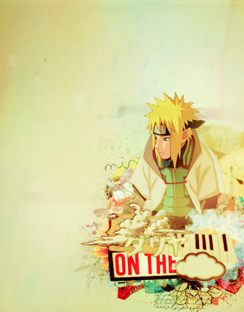 #minato #namikaze #yellow #flash #fourth #hokage