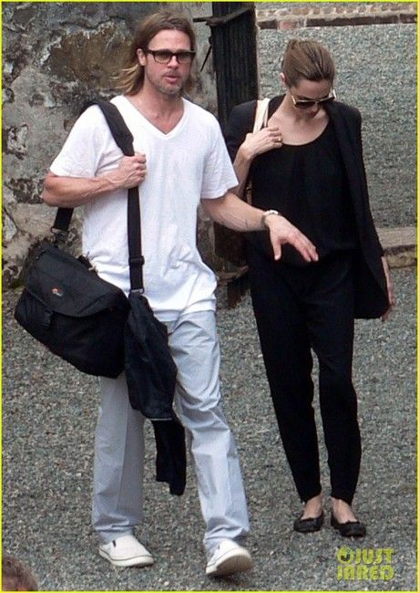 Brad Pitt spotted wearing the Crocs shoe Hover Slip On ...