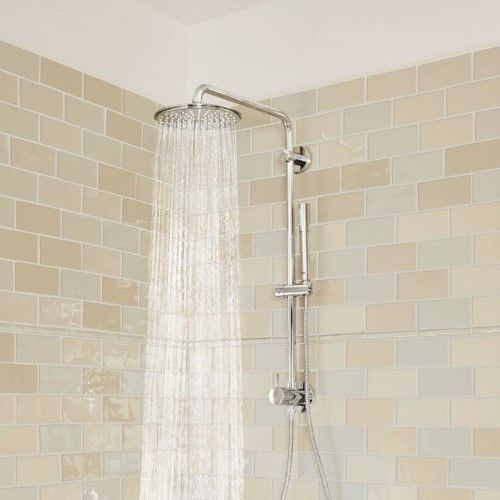 Grohe 26124000 150 Shower System In Chrome House Bathroom Designs Shower Systems Bathroom Design Small