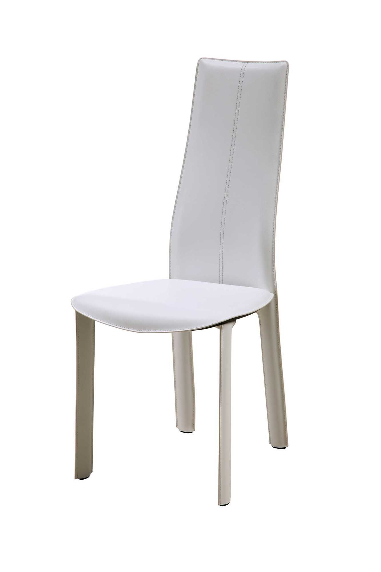 Whiteline Allison Dining Chair - Set of 4