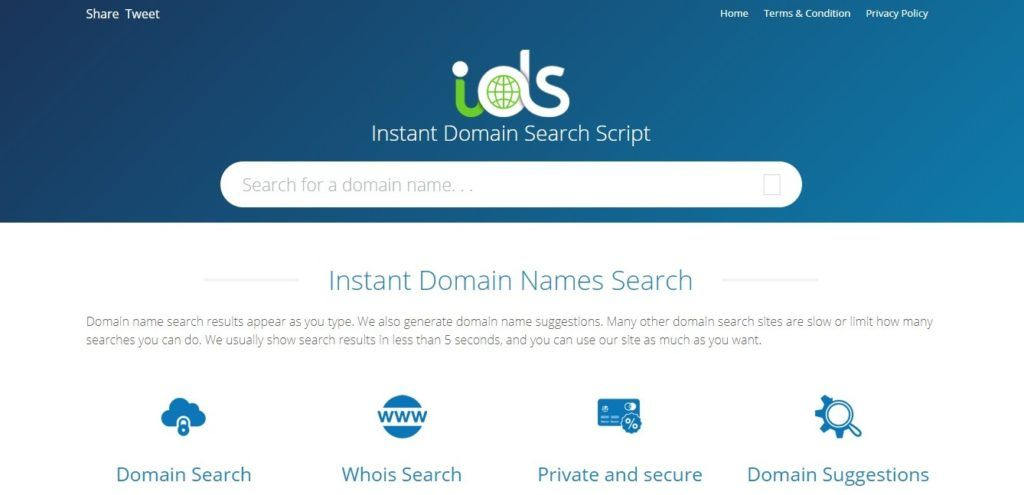 Instant Domain Search Script Nulled Free Download In 2020 Script Instant Browser Support