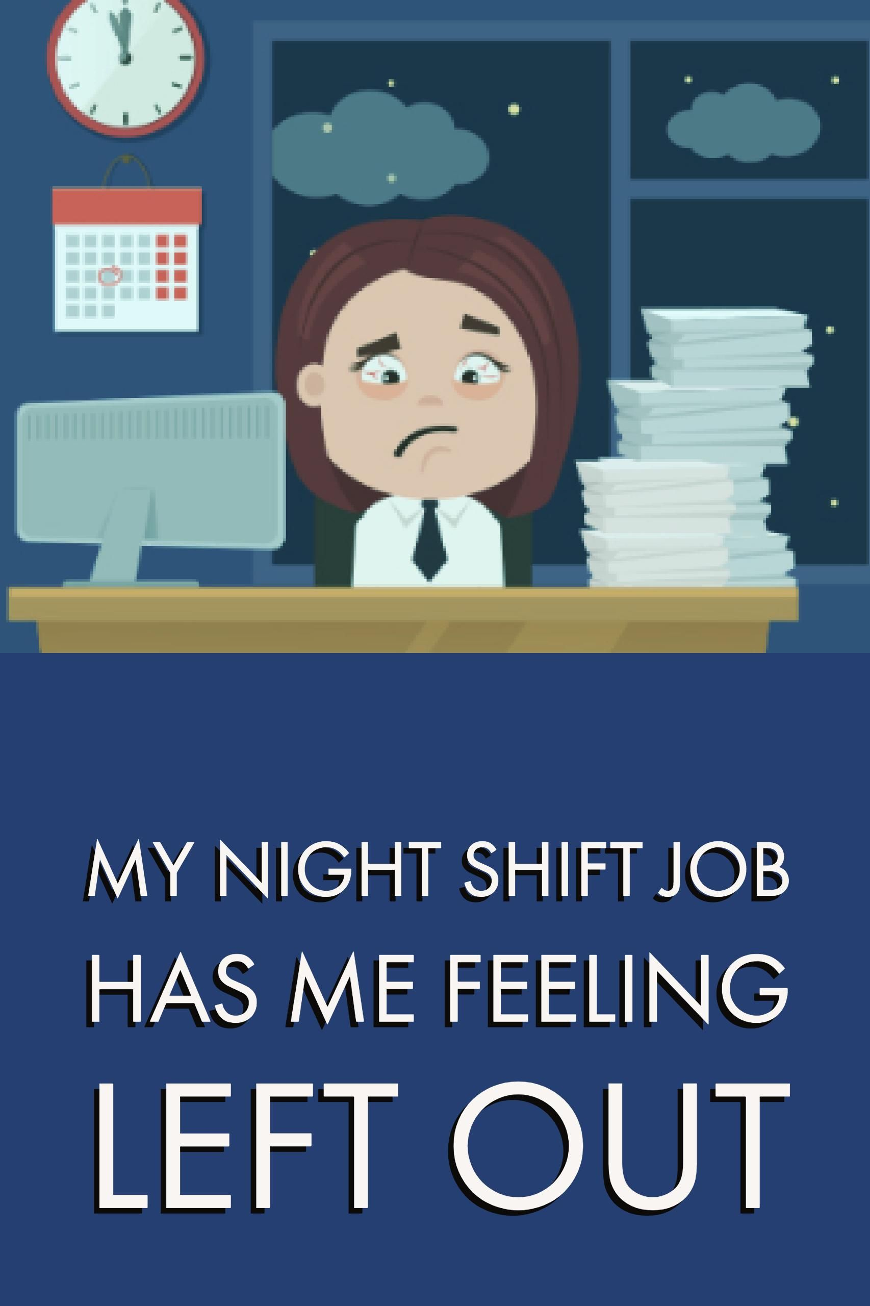 My Night Shift Job Is Leaving Me Out Of Our Family Life