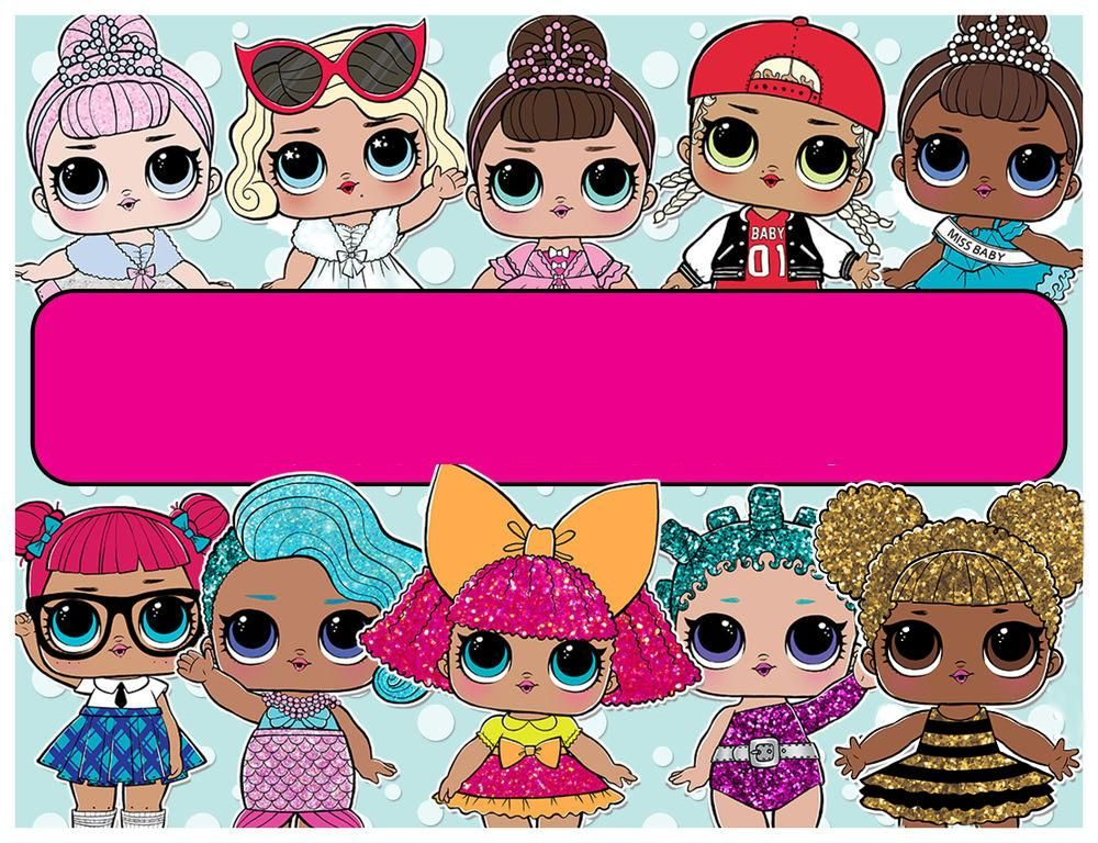 Lol Surprise Doll Personalized Edible Cake Topper Image Doll Cake Topper Lol Dolls Doll Birthday Cake
