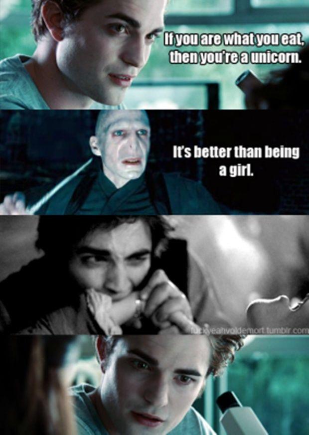 Harry Potter Vs Twilight 30 Pics Haha Really Funny Harry Potter Vs Twilight Harry Potter Memes Hilarious Harry Potter Twilight