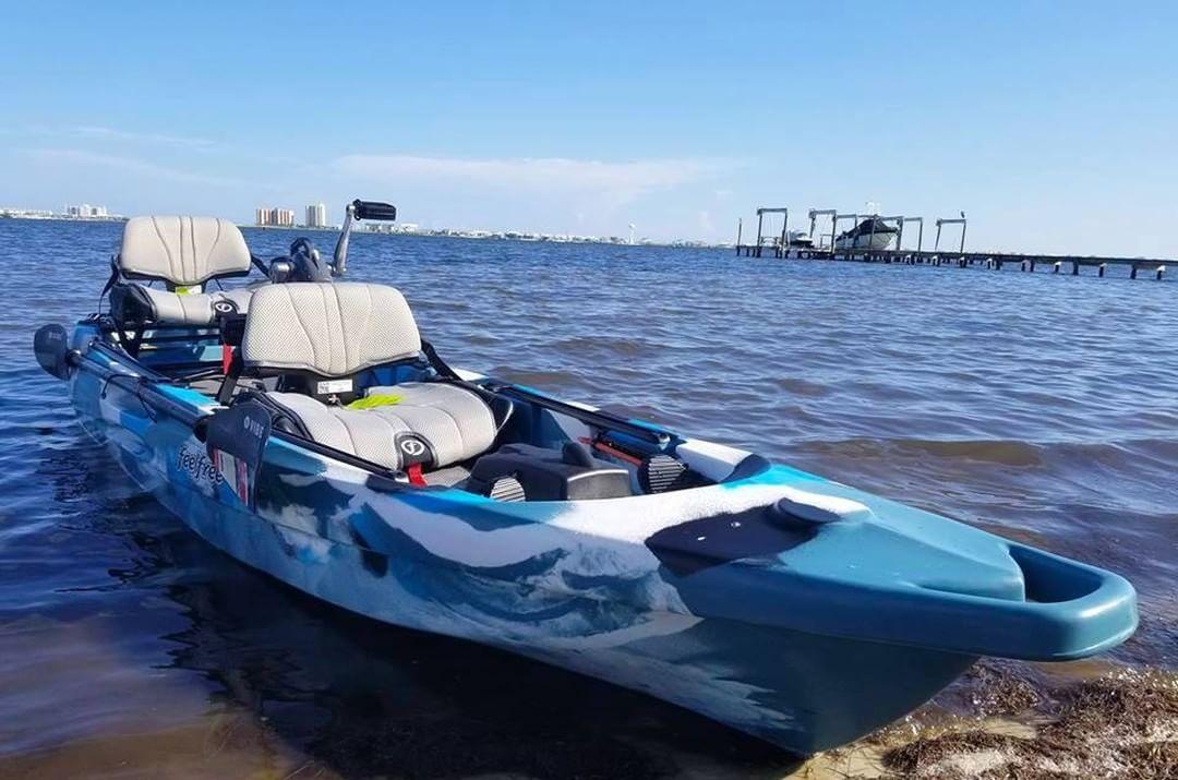 Feel Free Togheter On This Awsome Tandem Fishing Kayak Feelfree