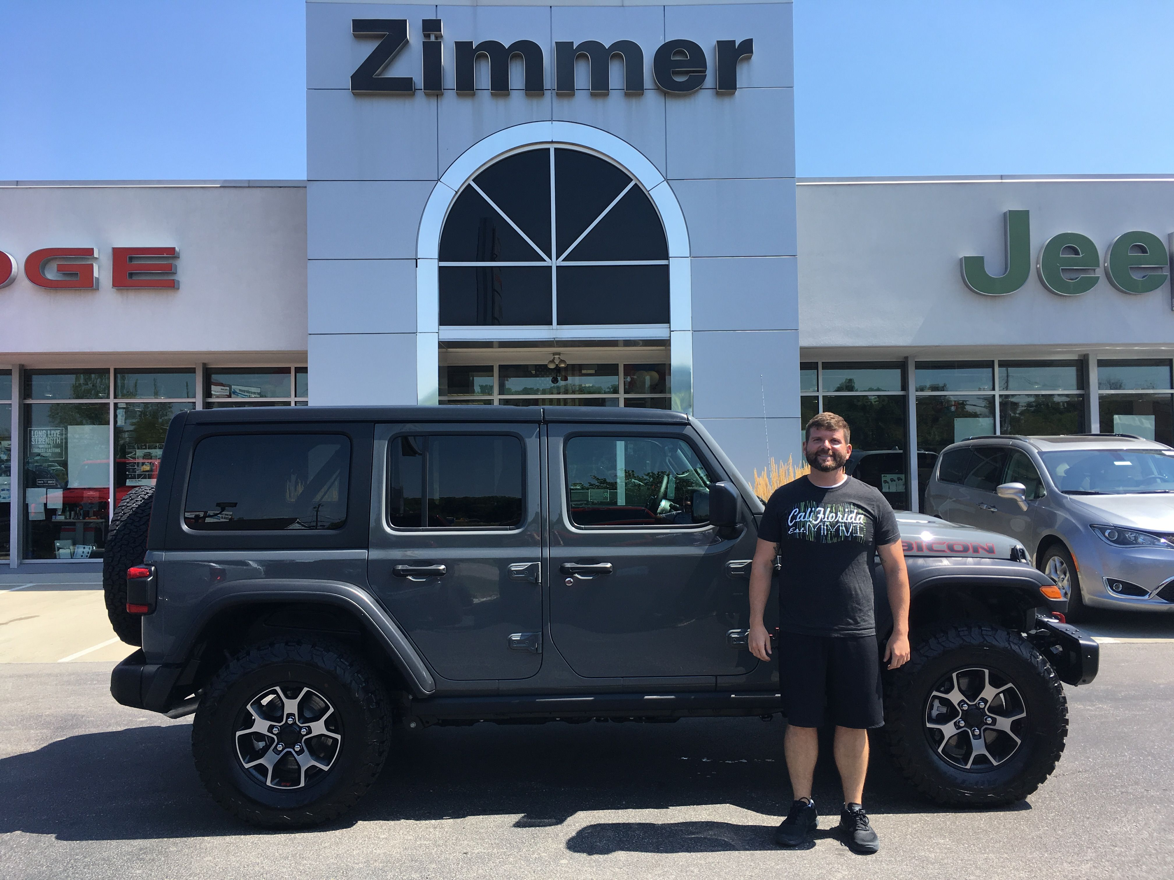 Johnathon Pape Is A Big Jeep Fan And Once He Saw The New Jl