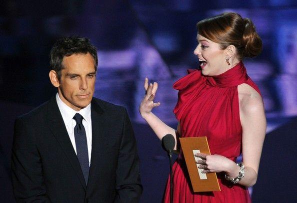 Ben Stiller e Emma Stone