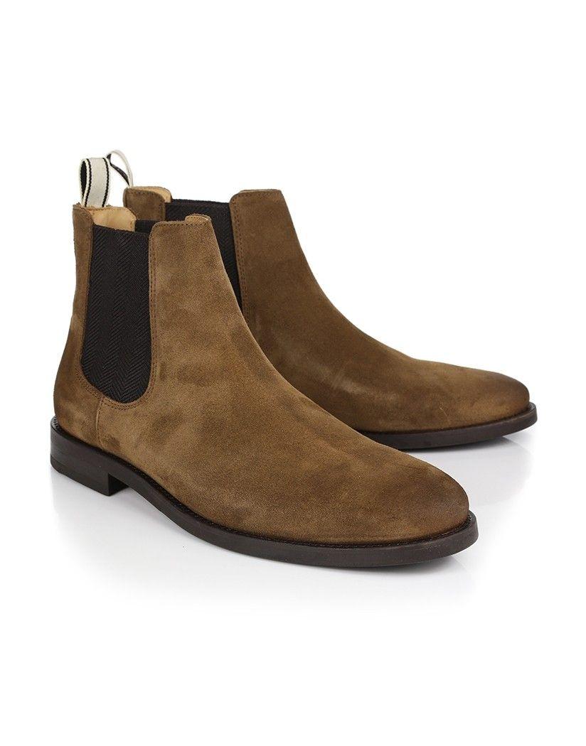 222407114f2 Gant Men's Max Chelsea Boots - Tobacco   Woredrobe   Chelsea boots ...
