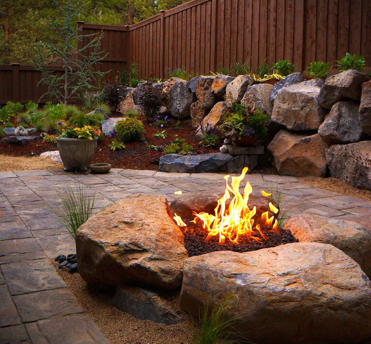 fire pits and outdoor fireplaces newport ave landscaping on backyard fire pit landscaping id=36381