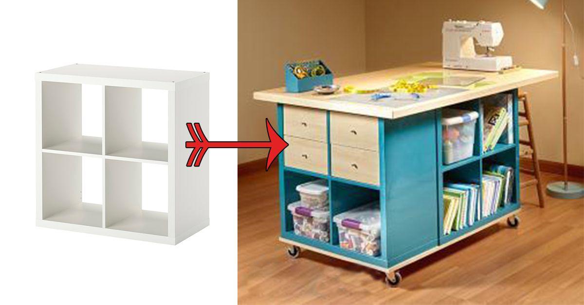 Ikea hack les étapes pour fabriquer une table d artisanat
